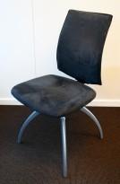 Håg Comm H05-5470 besøksstol / møteromsstol i grå Comfort/mikrofiber, pent brukte KUPPVARE
