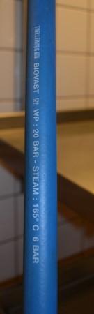 Nederman veggfestet slangetrommel med spyledusj for storkjøkken, 10meter, pent brukt bilde 5