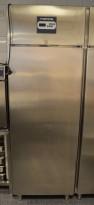 Metos Kjøleskap 70cm bredde i rustfritt stål, for storkjøkken, 206cm høyde, pent brukt