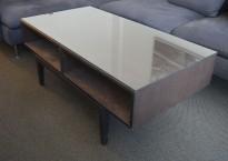 Loungebord / sofabord fra IKEA, modell Regissör, 118x60cm, pent brukt