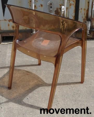 Kafestol / stol for uteservering, Pedrali modell Gossip, noe bruksslitasje bilde 3