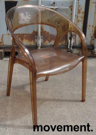 Kafestol / stol for uteservering, Pedrali modell Gossip, noe bruksslitasje bilde 2