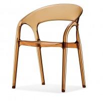 Kafestol / stol for uteservering, Pedrali modell Gossip, noe bruksslitasje