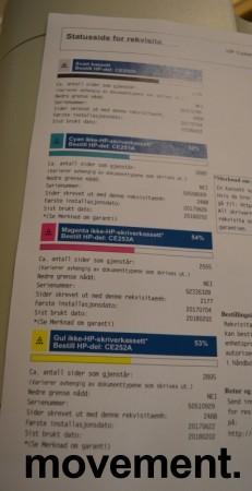 HP Color Laserjet CM3530 MFP, multifunksjonsskriver / fargelaser fra Hewlett-Packard, pent brukt bilde 3