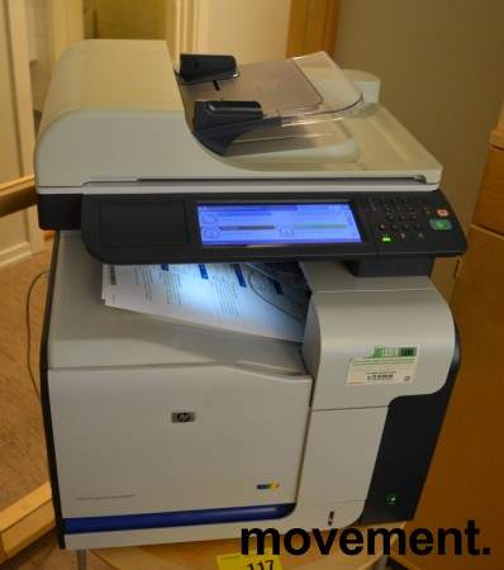 HP Color Laserjet CM3530 MFP, multifunksjonsskriver / fargelaser fra Hewlett-Packard, pent brukt bilde 2