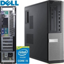 Stasjonær PC: Dell Optiplex 9010, i5-3570 Quad Core 3.4GHz,  8GB RAM / 250GB HDD, pent brukt