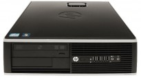 Stasjonær PC: HP 8200 Elite SFF, i5-2400 3,1GHz / 250GB SSD / 8GB RAM / WIN10, pent brukt