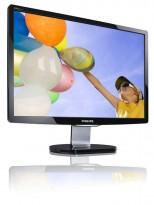 LED skjerm for PC, Phillips 220C1SB, 22 tommer, 1680x1050, VGA/DVI, pent brukt