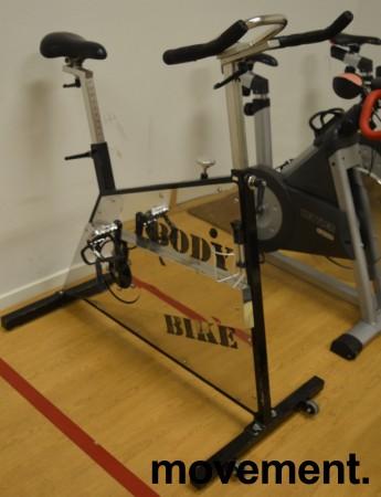 Treningssykkel / spinningsykkel Body Bike The Original, pent brukt bilde 1