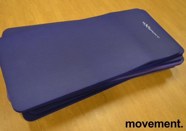 Exerfit treningsmatter, 11stk selges samlet, pent brukt bilde 1