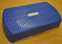 Reebok liten stepkasse i blått, pent brukt