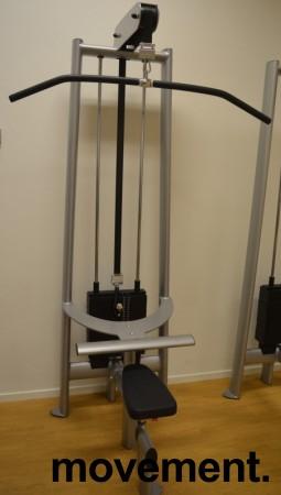 Gym 80 Sygnum nedtrekk / lat pulley, pent brukt
