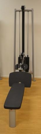 Gym 80 Sygnum sittende roing / long pulley, pent brukt bilde 2