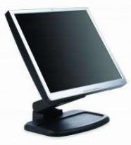 HP 17toms HP1740 skjerm VGA/DVI, Tilt, 1280x1024, pent brukt
