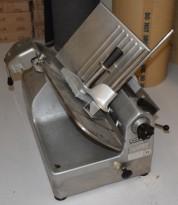 Påleggskjærer, skjæremaskin fra Hobart, 30mm kniv, modell 1712E, pent brukt