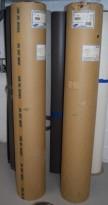 Rull med Forbo Marmoleum / Linoleum, 63,90kvm på rull, mørk grå, NY/UBRUKT RULL