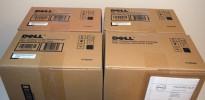 Toner 4stk til Dell 3310cn/3115cn, fullt sett med Black/Cyan/Magenta/Yellow, NY/UBRUKT