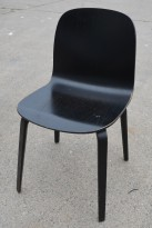HAY About a chair AAC i sortbeiset ask, brukt