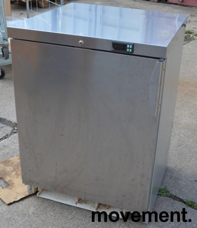 Electrolux fryseskap underbenk i rustfritt stål, pent brukt bilde 1