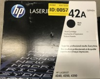 HP Original toner Q5942A (42A) Black/Sort, til Laserjet 4240/4250/4350, NY