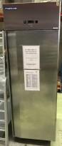 Kjøleskap for storkjøkken i rustfritt stål, Metos S+700L TN, 70cm bredde, 208cm høyde, pent brukt