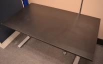 Sort bordplate til skrivebord 140x80cm, NY / UBRUKT