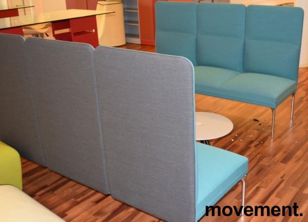 Loungesofa fra ForaForm, modell Senso, Design: Andersen & Voll, 3seter, 190cm bredde, pent brukt bilde 2