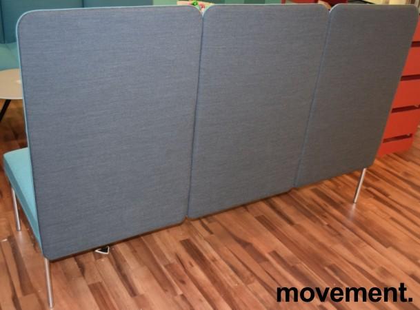 Loungesofa fra ForaForm, modell Senso, Design: Andersen & Voll, 3seter, 190cm bredde, pent brukt bilde 3