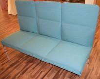 Loungesofa fra ForaForm, modell Senso, Design: Andersen & Voll, 3seter, 190cm bredde, pent brukt