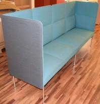 Loungesofa fra ForaForm, modell Senso, Design: Andersen & Voll, 4seter, 256cm bredde, pent brukt