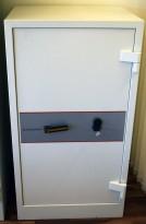 Sikkerhetsskap / Brannsafe fra Rosengrens, modell RD104, 129cm høyde, 60min, pent brukt
