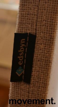 Bordskillevegg fra Edsbyn i lyst grått stoff, 120x65cm, pent brukt bilde 4