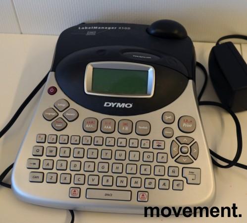 Dymo Labelmanager 450D merkemaskin, pent brukt