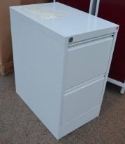 Arkivskap for hengemapper fra AJ Produkter, 2 skuffers, 42cm bredde, brukt