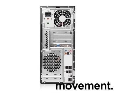HP Elite 7000MT Minitower PC, Intel Core i5-750 2,67GHz, 3GB / 500GB HD / NVIDIA GeForce 210, pent brukt bilde 2