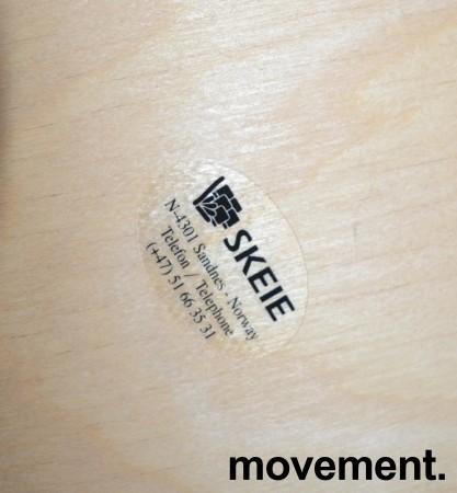 Konferansestol fra Skeie i bjerk / grått stoff, pent brukt bilde 3