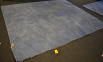 Gulvteppe i blått, 290x250cm, modell Plain fra Almedahls, 100% ull, pent brukt