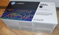 Original toner til HP: CE400X (507X) Sort, for HP Laserjet Enterprise Color M551, NY/UBRUKT