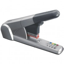 Stiftemaskin Leitz 5551 HD 80 ark Sølv, benytter cartridge-stifter, pent brukt