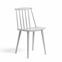 Hay J-series J77 konferansestol / spisestol i Dusty Grey (lys grå), pent brukt