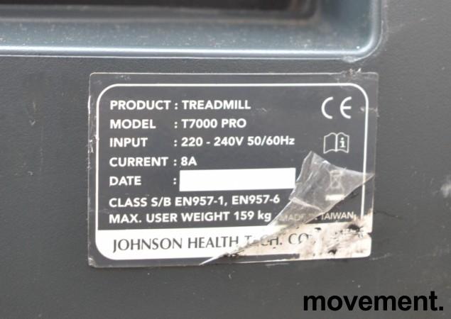 Johnson T7000 Pro tredemølle, pent brukt bilde 3