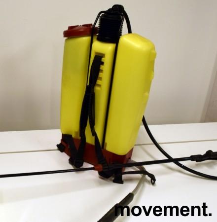 Ryggsprøyte for insektsmiddel etc: Hardi BP15, 15 liters kapasitet, ryggsekksprøyte, pent brukt bilde 3