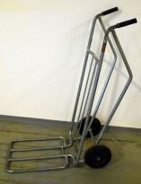 Sekketralle, Helgevagnen / AJ Produkter, galvanisert, pent brukt