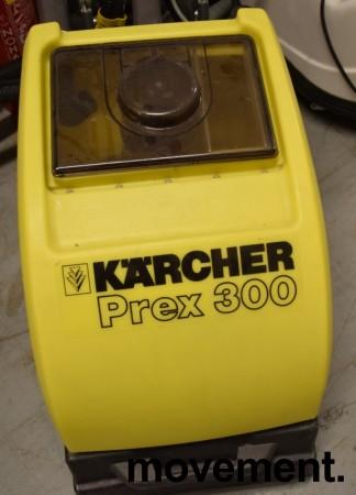 Kärcher tepperenser på hjul, proffmodell, PREX 300, pent brukt bilde 5