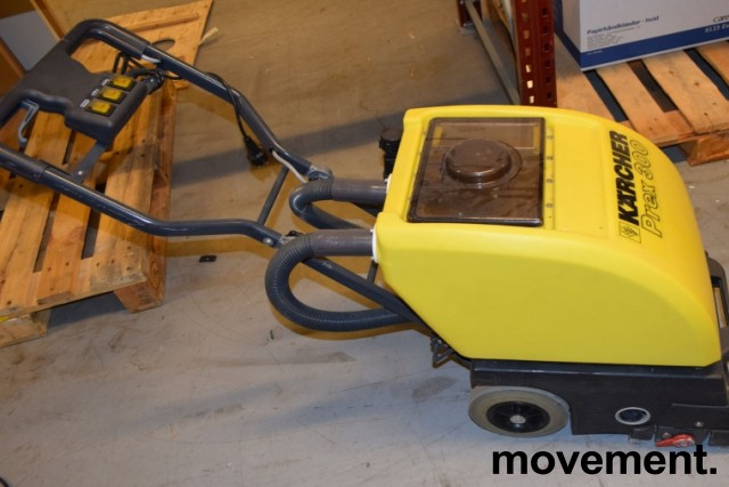 Kärcher tepperenser på hjul, proffmodell, PREX 300, pent brukt bilde 3