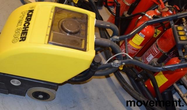 Kärcher tepperenser på hjul, proffmodell, PREX 300, pent brukt bilde 4