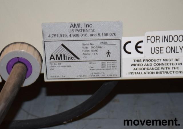 Massasjemaskin / vannmassasje/massasjetunnell, Profiler Aquamassage XL-250 Pro, pent brukt bilde 4