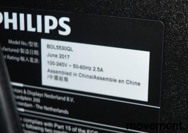 Philips Signage Solutions Q-Line BDL5530QL, 55toms Public Display-skjerm, FULL HD, pent brukt bilde 3