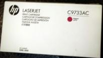 HP Toner C9733AC / C9733A (645A) Magenta/Rød toner til Color LaserJet  5550 m.fl. NY I ESKE, ORIGINAL