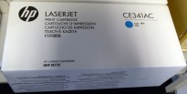HP Original toner CE341AC contract whitebox (CE341A), Cyan/Blå, for 700 color MFP M775 NY/UBRUKT